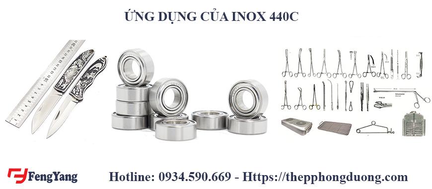 Ứng dụng của inox 440C