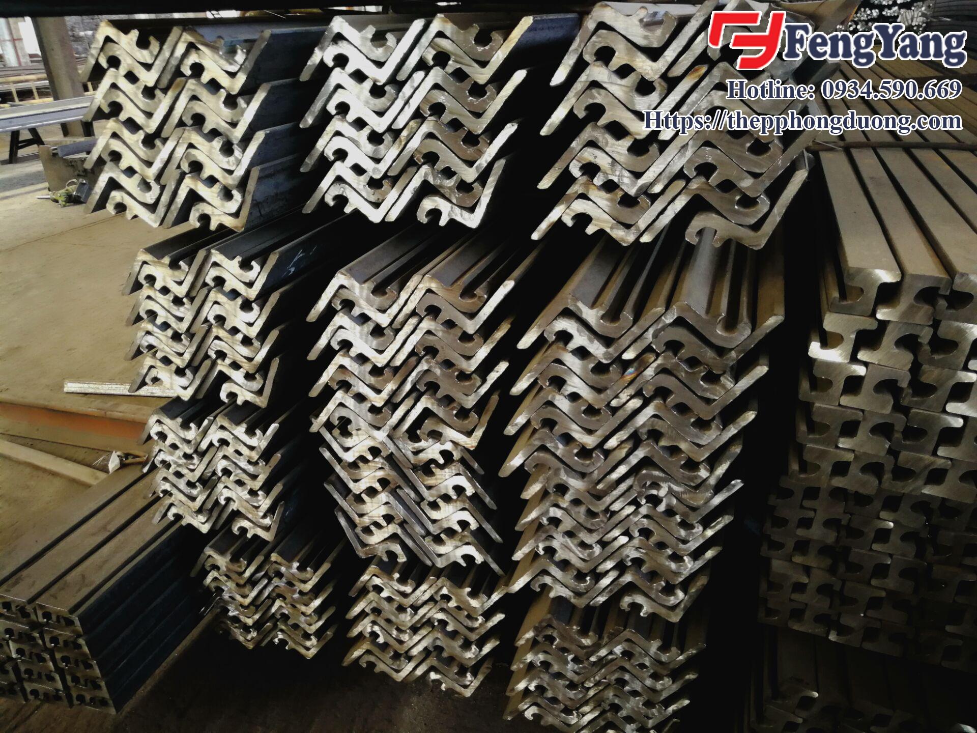 Sản phẩm thép hình làm khe co giãn do Thép Phong Dương sản xuất