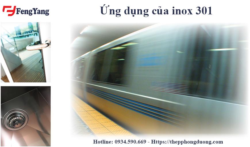 Ứng dụng của inox 301