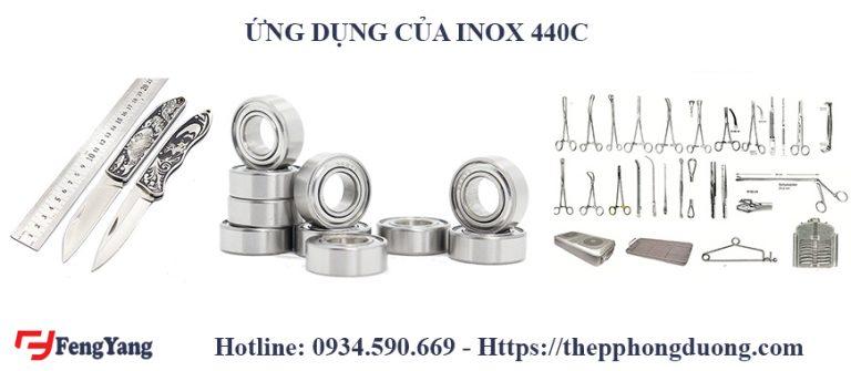 Ứng dụng của tấm inox 440C