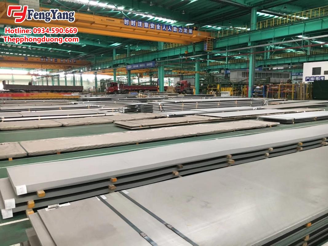 Nhà máy sản xuất inox tấm 321, SUS321