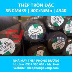 Thép tròn đặc SNCM439