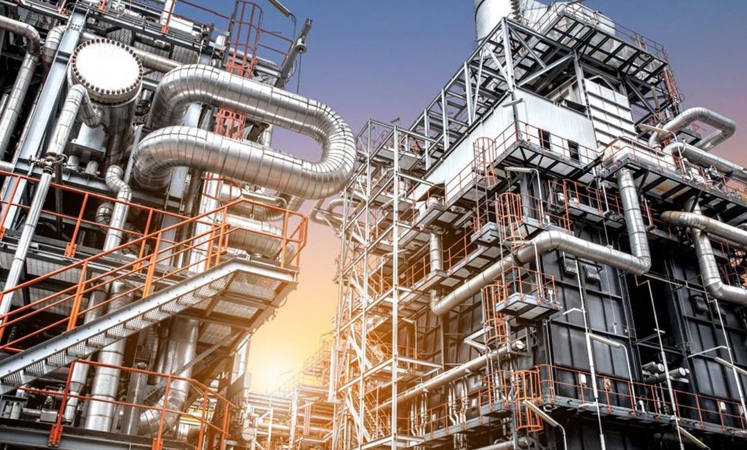 Inox 310S được ứng dụng trong công trình máy lọc dầu